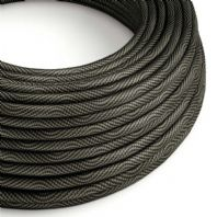 Black and Grey 3 Core Electrical Cable